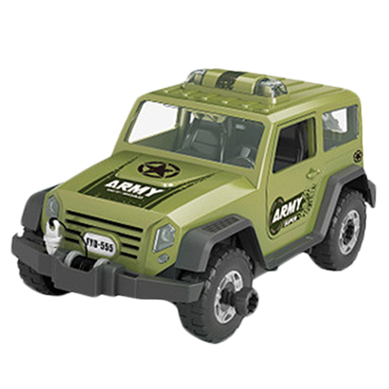 Detachable-Loading-And-Unloading-Nut-Assembling-Combination-Puzzle-Jeep-Outd-5D4 thumbnail 12