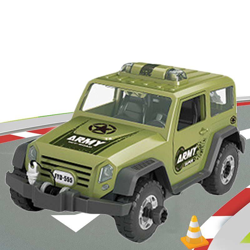 Detachable-Loading-And-Unloading-Nut-Assembling-Combination-Puzzle-Jeep-Outd-5D4 thumbnail 13