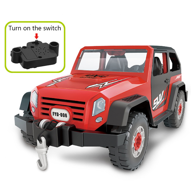 Detachable-Loading-And-Unloading-Nut-Assembling-Combination-Puzzle-Jeep-Outd-5D4 thumbnail 15