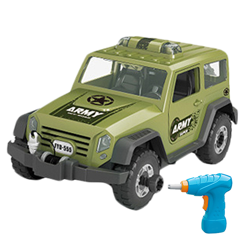 Detachable-Loading-And-Unloading-Nut-Assembling-Combination-Puzzle-Jeep-Out-P8I3 thumbnail 11