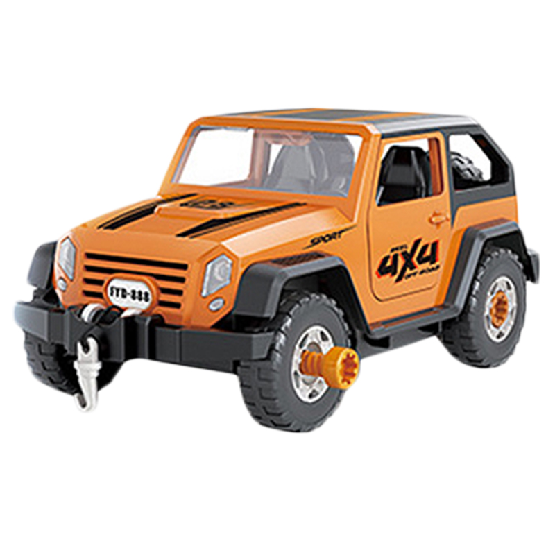 Detachable-Loading-And-Unloading-Nut-Assembling-Combination-Puzzle-Jeep-Outd-5D4 thumbnail 18