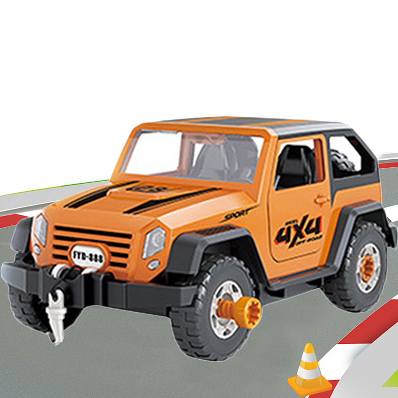 Detachable-Loading-And-Unloading-Nut-Assembling-Combination-Puzzle-Jeep-Outd-5D4 thumbnail 19