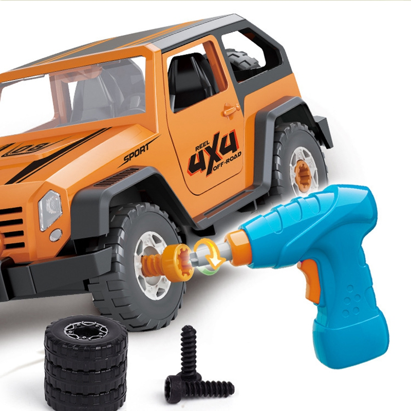 Detachable-Loading-And-Unloading-Nut-Assembling-Combination-Puzzle-Jeep-Outd-5D4 thumbnail 20