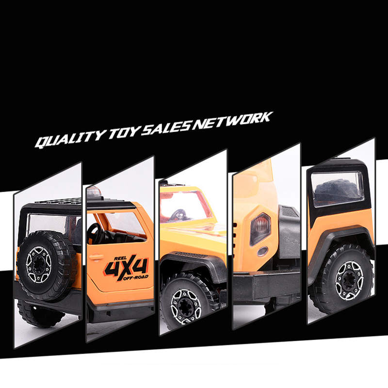 Detachable-Loading-And-Unloading-Nut-Assembling-Combination-Puzzle-Jeep-Outd-5D4 thumbnail 21