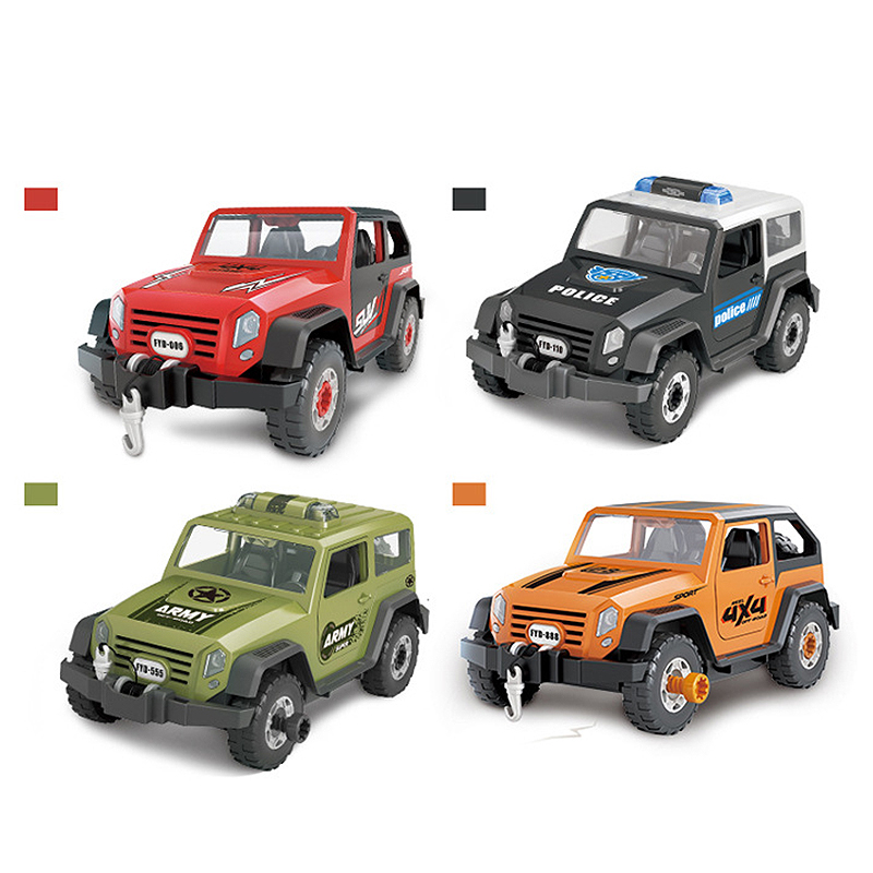Detachable-Loading-And-Unloading-Nut-Assembling-Combination-Puzzle-Jeep-Outd-5D4 thumbnail 28