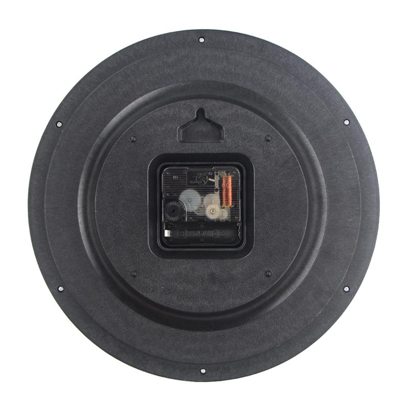 Timelike-Classic-Vintage-Round-Wall-Clock-Modern-Plastic-Clock-Cuarzo-Horlo-X6K9 miniatura 6
