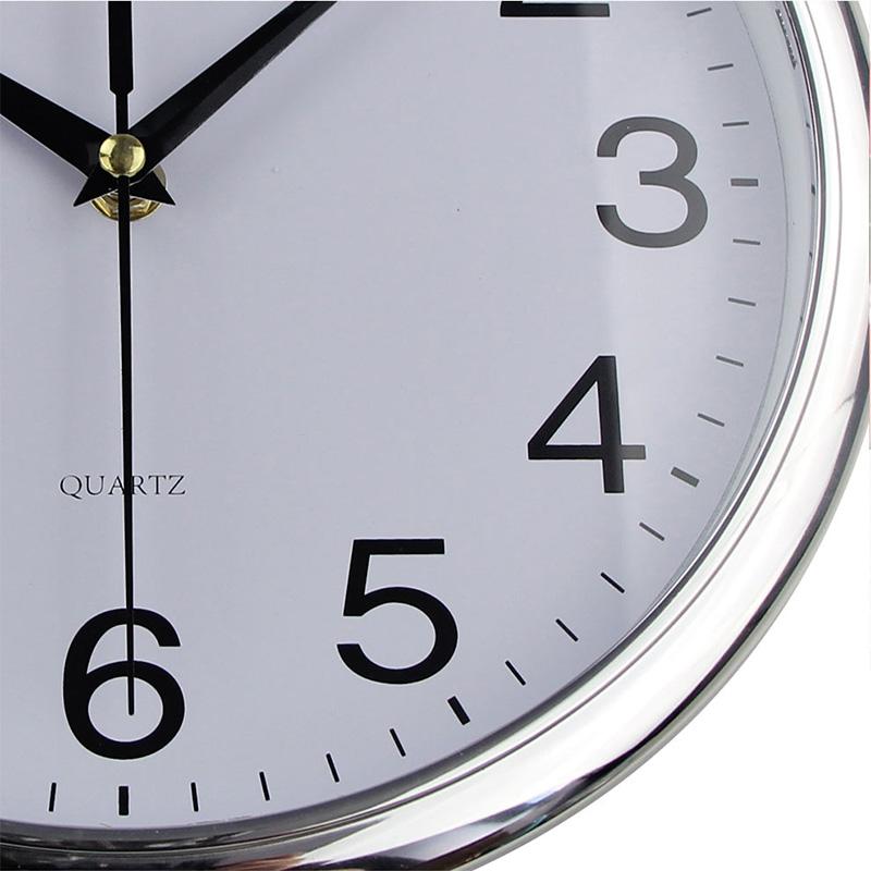 Timelike-Classic-Vintage-Round-Wall-Clock-Modern-Plastic-Clock-Cuarzo-Horlo-X6K9 miniatura 19