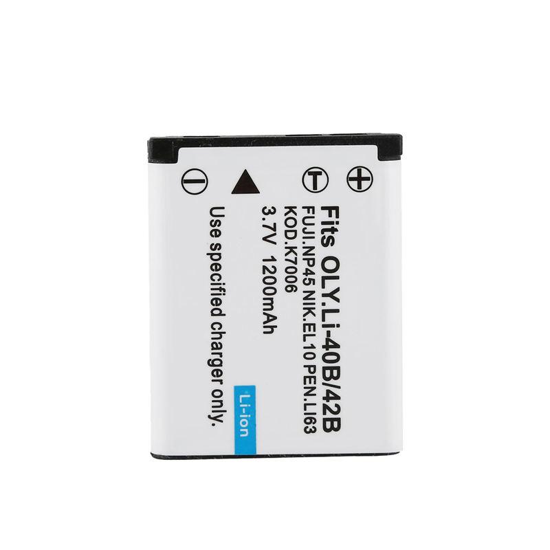 Cargador De Batería Para Cámara Digital FUJI FUJIFILM FINEPIX NP-45 NP45 NP-45A
