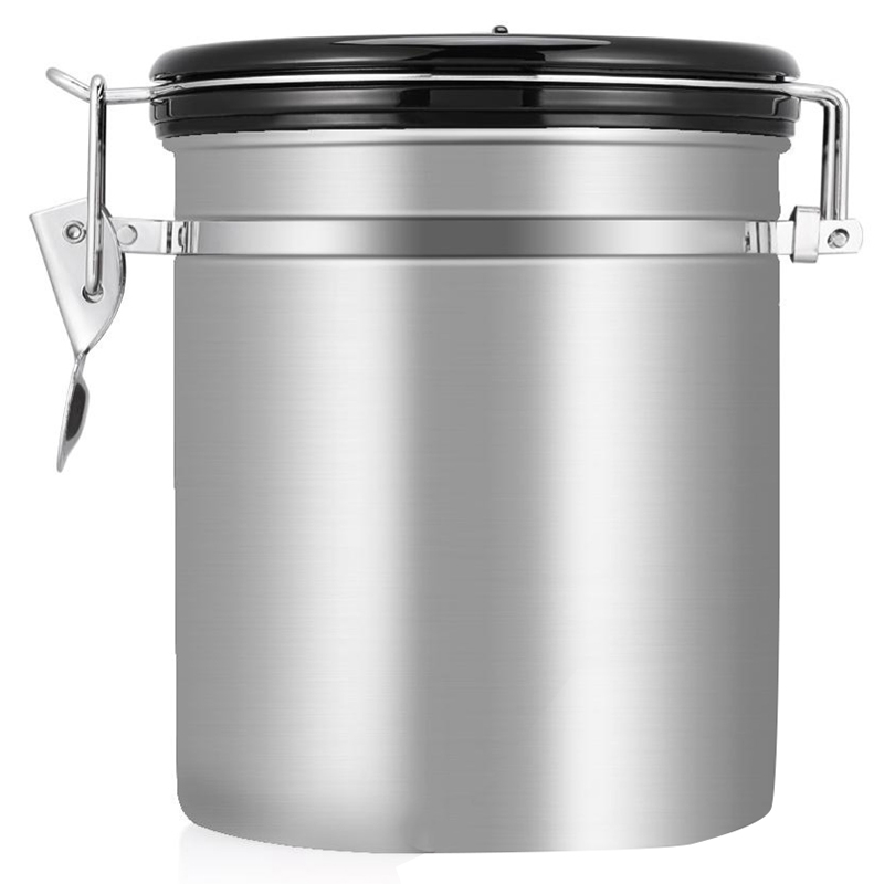 Details about Coffee Flour Sugar Stainless Steel Container Dili Kitchen  Storage Canister Z5L4