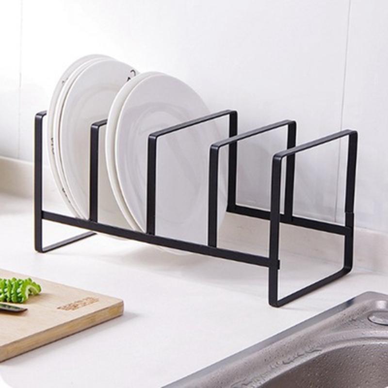 Organizador-De-Cocina-Tapa-De-La-Olla-Estante-Titular-De-La-Cuchara-De-Acer-Z7P9 miniatura 5