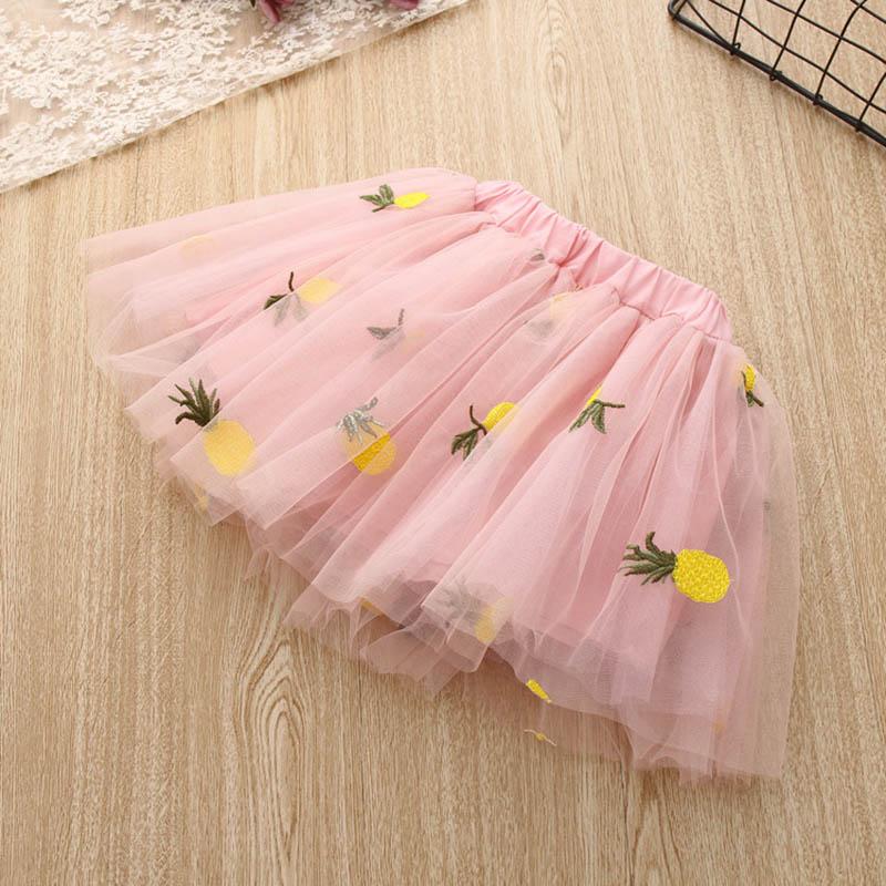 Nette-Baby-Maedchen-Kleidung-Sets-Sommer-Kurzarm-Ananas-Druck-T-Shirts-Und-S-W6T6 Indexbild 5