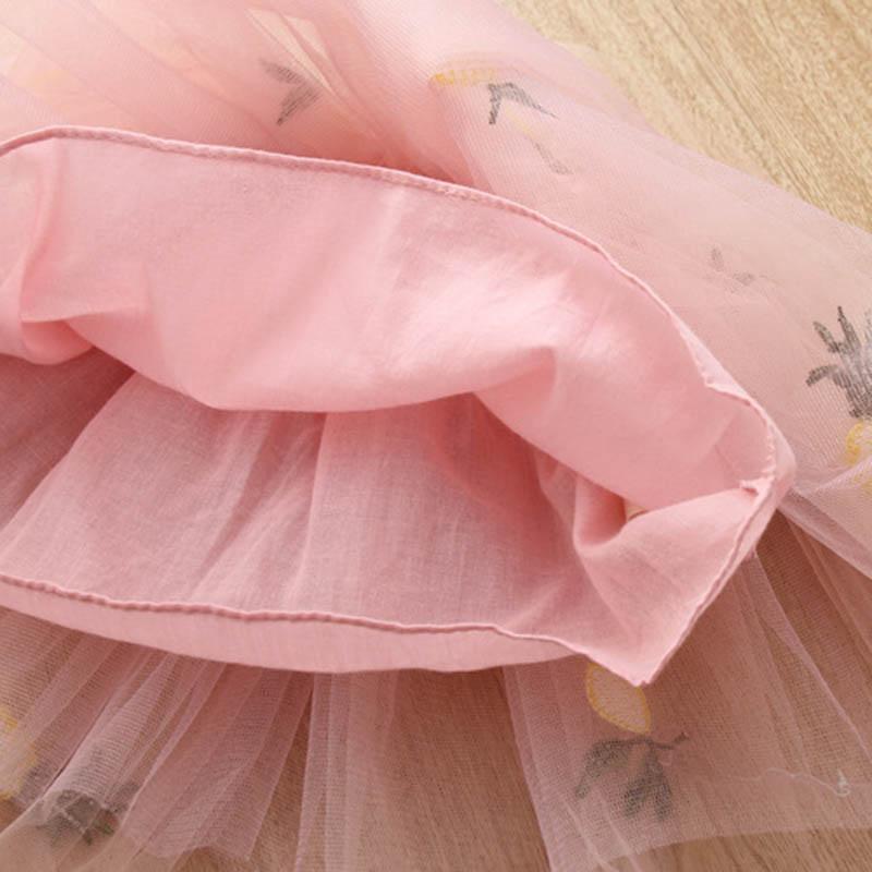 Nette-Baby-Maedchen-Kleidung-Sets-Sommer-Kurzarm-Ananas-Druck-T-Shirts-Und-S-W6T6 Indexbild 8