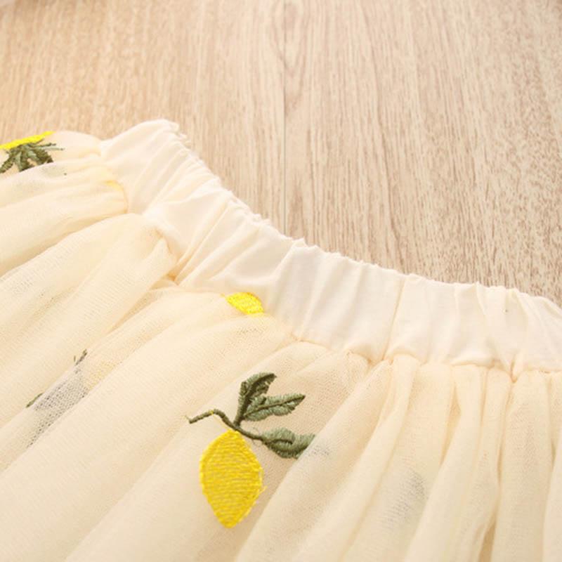 Nette-Baby-Maedchen-Kleidung-Sets-Sommer-Kurzarm-Ananas-Druck-T-Shirts-Und-S-W6T6 Indexbild 16