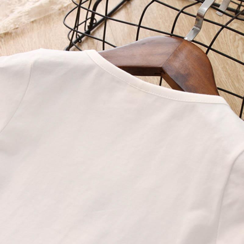 Nette-Baby-Maedchen-Kleidung-Sets-Sommer-Kurzarm-Ananas-Druck-T-Shirts-Und-S-W6T6 Indexbild 20