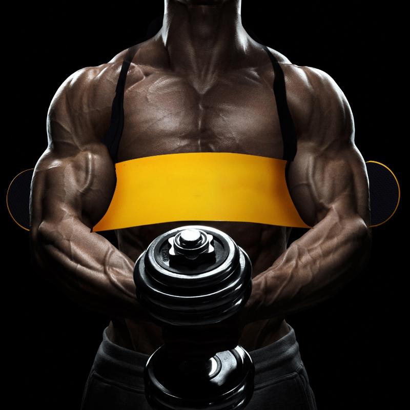Defy New Heavy Duty bras Isolateur Blaster Body Building Bomber biceps curl jaune