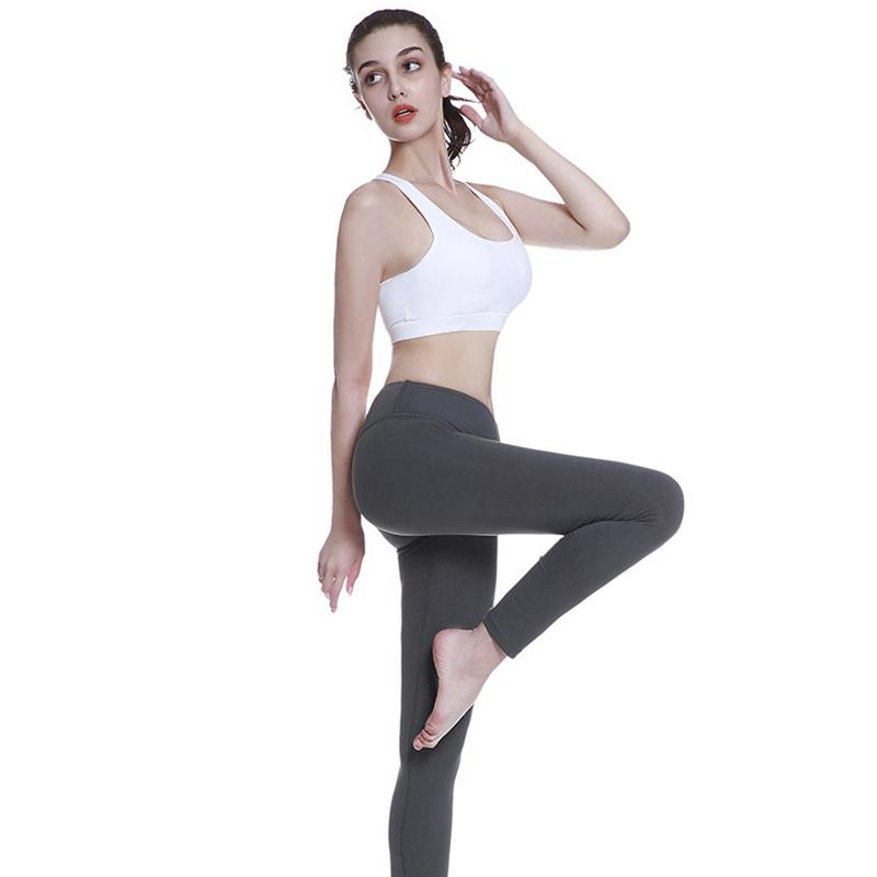 High-Stretch-Respirant-Soutien-Gorge-Haut-Fitness-Femmes-RembourrE-Soutien-A2V4 miniature 3