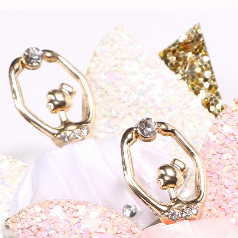 1X-Strass-Ballet-Fille-En-Epingle-A-Cheveux-Arcs-Avec-Des-Clips-Flash-Paill-W6W7 miniature 25