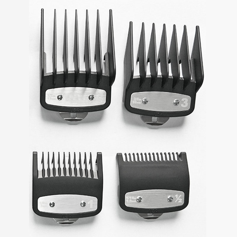 Stainless-Steel-Attachment-Clipper-Combs-For-Dogs-Dog-Grooming-Kit-L4B9 thumbnail 4
