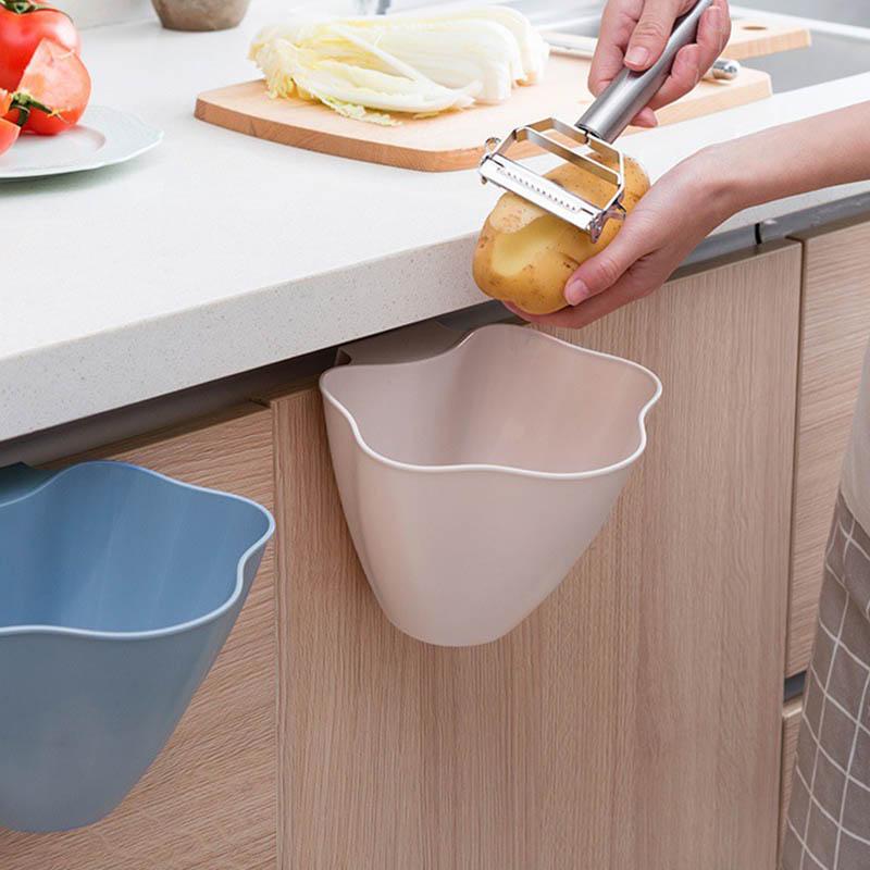 2X-Mini-Hanging-Accessories-Kitchen-Accessories-Organizer-Plastic-Household8R5 thumbnail 6