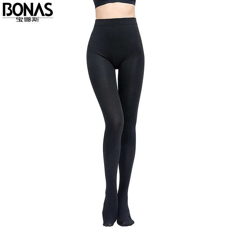 5bf209b62cddb Bonas Women Plus Size Winter Tights Elastic Velvet Warm Pantyhose Keep Warm  7A1