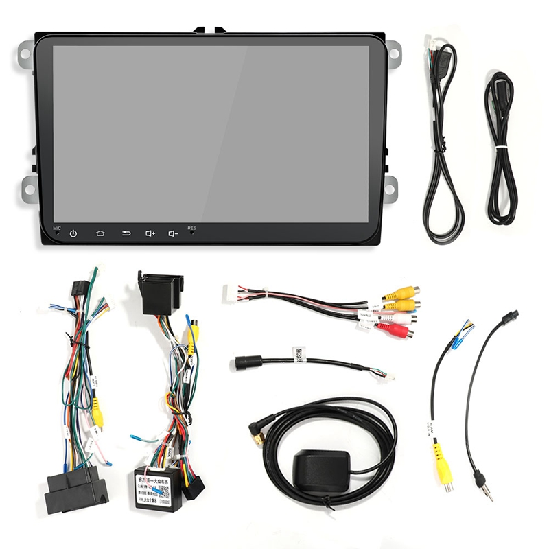 9-Inch-Android-8-0-Double-2Din-Car-Radio-Gps-Auto-Radio-2-Din-Usb-For-Volks-X6X4 thumbnail 5