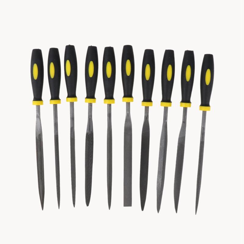 10 Pièces De 3x140mm Aiguille Fichier Ensemble Pour Bijoutier Sculpture Sur K6c0 Sensation Confortable