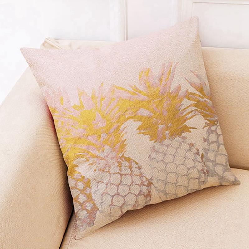 2X-Geometric-Pillow-Cover-Home-Decoration-Pillow-Cover-Linen-Sofa-Cushion-C5X6 thumbnail 3
