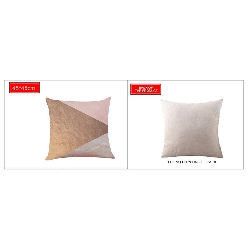 2X-Geometric-Pillow-Cover-Home-Decoration-Pillow-Cover-Linen-Sofa-Cushion-C5X6 thumbnail 12