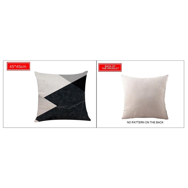 2X-Geometric-Pillow-Cover-Home-Decoration-Pillow-Cover-Linen-Sofa-Cushion-C5X6 thumbnail 18