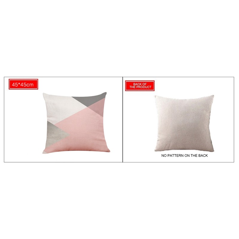 2X-Geometric-Pillow-Cover-Home-Decoration-Pillow-Cover-Linen-Sofa-Cushion-C5X6 thumbnail 24