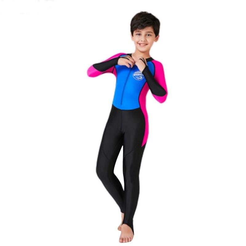 SCuba-Donkey-Kids-Neoprene-Swimsuit-New-Boys-Wetsuits-Snorkeling-Surfing-Ra-Z7L2 thumbnail 9