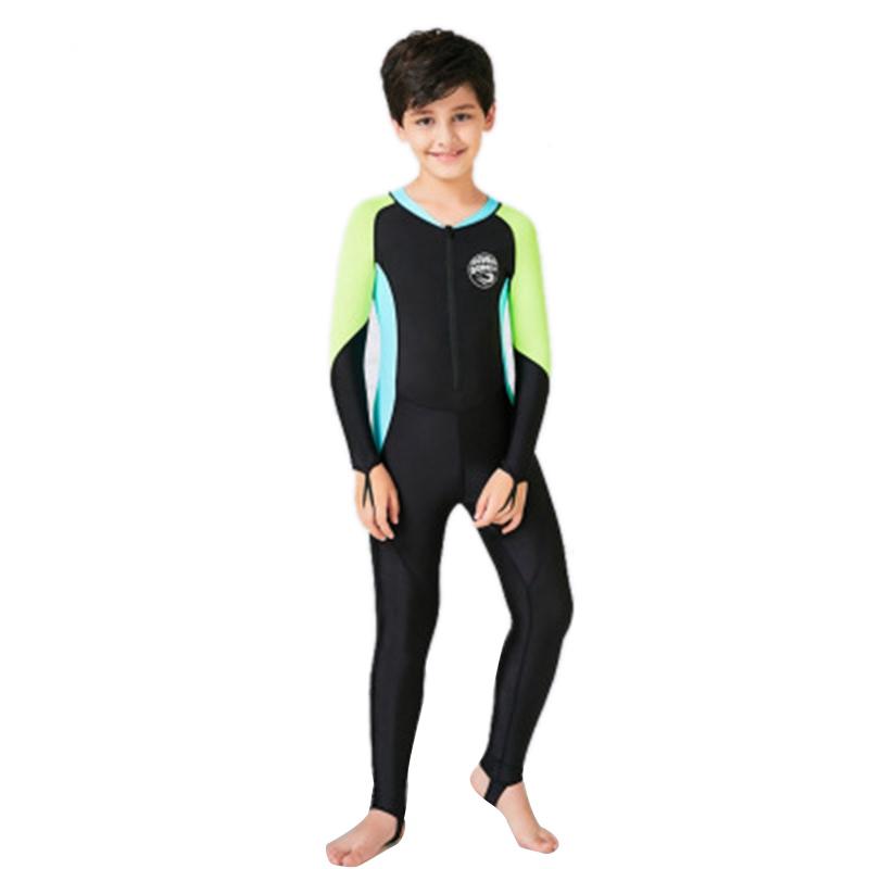 SCuba-Donkey-Kids-Neoprene-Swimsuit-New-Boys-Wetsuits-Snorkeling-Surfing-Ra-Z7L2 thumbnail 2