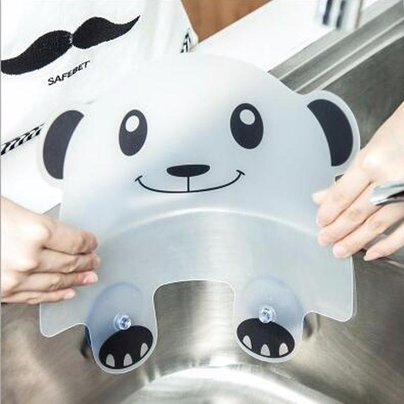 2X-Vivid-Panda-Plastic-Water-Baffle-Kitchen-Sucker-Water-Splash-Guards-Prot8W3 thumbnail 5