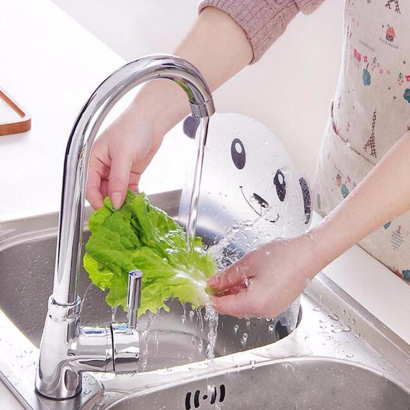 2X-Vivid-Panda-Plastic-Water-Baffle-Kitchen-Sucker-Water-Splash-Guards-Prot8W3 thumbnail 6