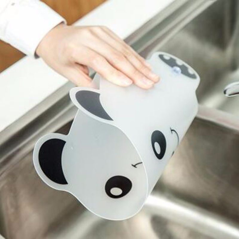 2X-Vivid-Panda-Plastic-Water-Baffle-Kitchen-Sucker-Water-Splash-Guards-Prot8W3 thumbnail 7