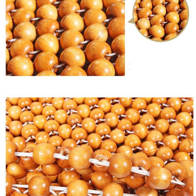 Muzhu-Auto-Sitzkissen-Holzperlen-Stuhl-Kunst-Massage-Kissen-Auto-I6L2 Indexbild 12