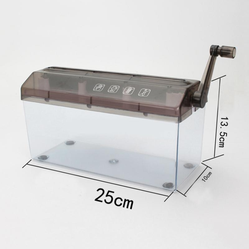 Mini-Trituradora-Destructor-Trituradora-Maquina-De-Corte-De-Documentos-De-P-J5H7 miniatura 3