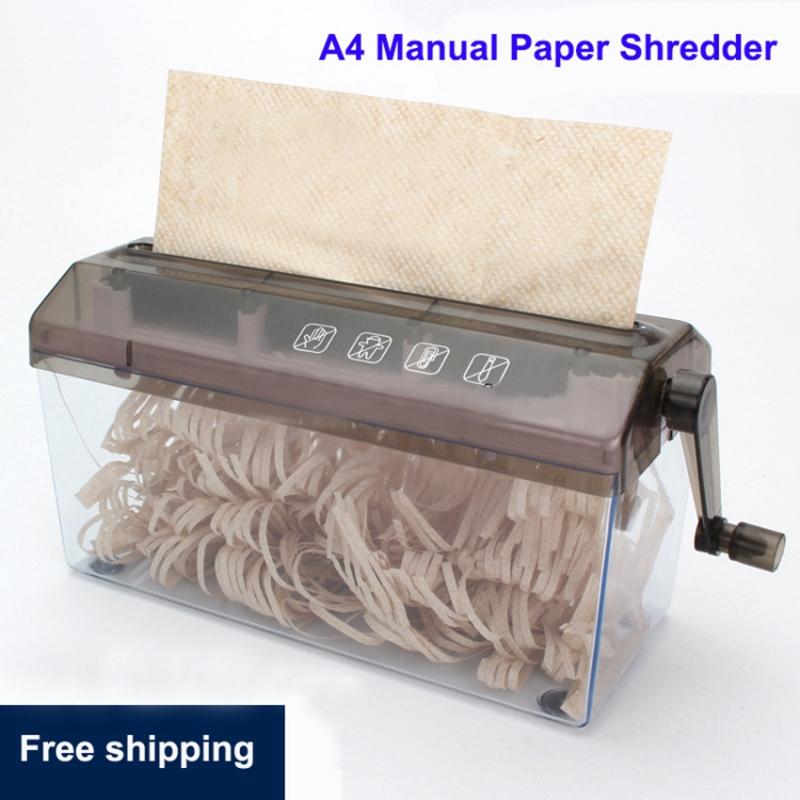 Mini-Trituradora-Destructor-Trituradora-Maquina-De-Corte-De-Documentos-De-P-J5H7 miniatura 4
