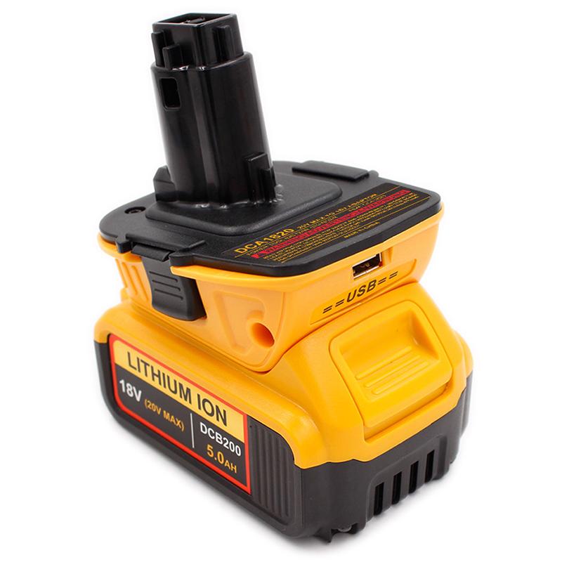 For Dca1820 20V 18V Usb Adapter Work With Dewalt Max Xr ...