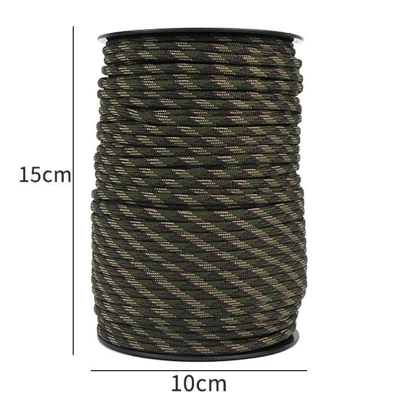 1X-100-M-4-Mm-9-Stand-Cores-Pour-La-Survie-Parachute-Cord-Lanyard-Camping-E-Z7I5 miniature 9