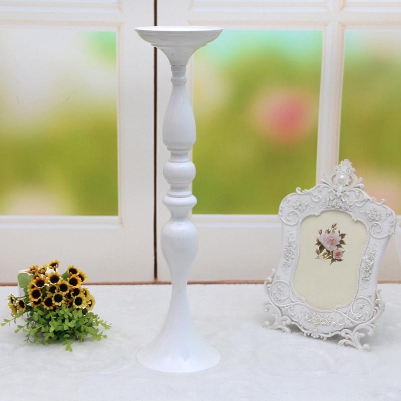 Metal-Bougeoirs-Vase-A-Fleurs-Support-De-Bougie-Baton-Table-De-Mariage-Piec-S2I4 miniature 8