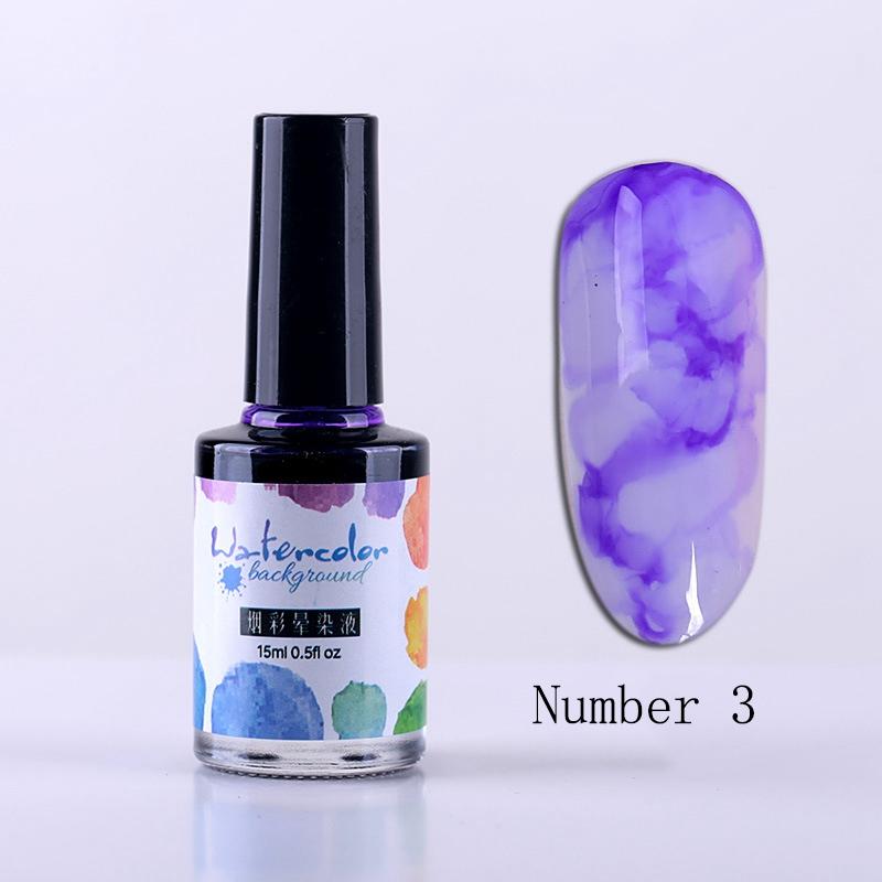 15Ml-Nail-Polish-Ink-Gel-Watercolor-Gradient-Pattern-Nail-Art-Manicure-Deco-W1F9 thumbnail 21