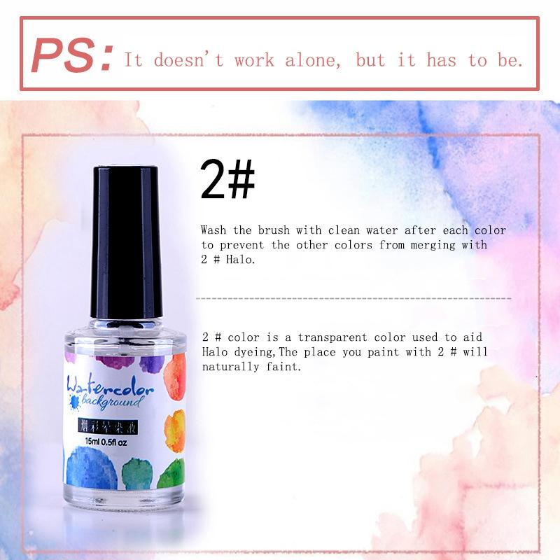 15Ml-Nail-Polish-Ink-Gel-Watercolor-Gradient-Pattern-Nail-Art-Manicure-Deco-W1F9 thumbnail 30
