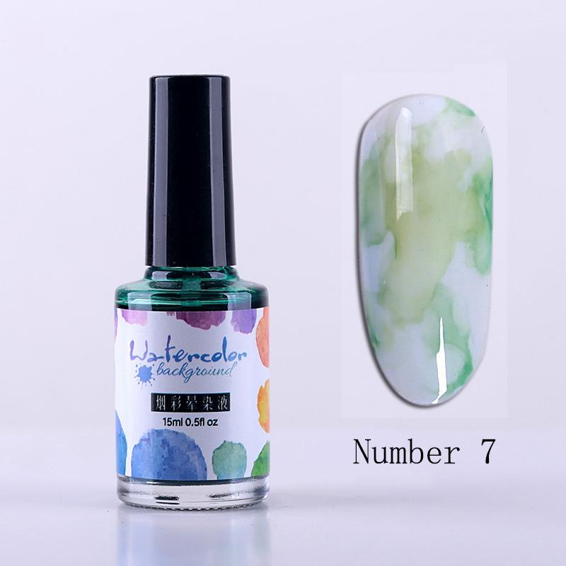 15Ml-Nail-Polish-Ink-Gel-Watercolor-Gradient-Pattern-Nail-Art-Manicure-Deco-W1F9 thumbnail 57