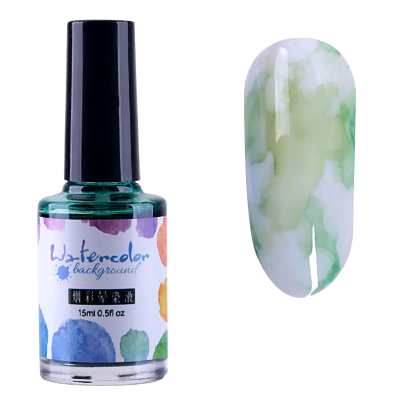 15Ml-Nail-Polish-Ink-Gel-Watercolor-Gradient-Pattern-Nail-Art-Manicure-Deco-W1F9 thumbnail 56