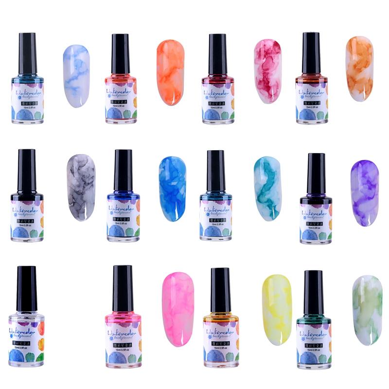 15Ml-Nail-Polish-Ink-Gel-Watercolor-Gradient-Pattern-Nail-Art-Manicure-Deco-W1F9