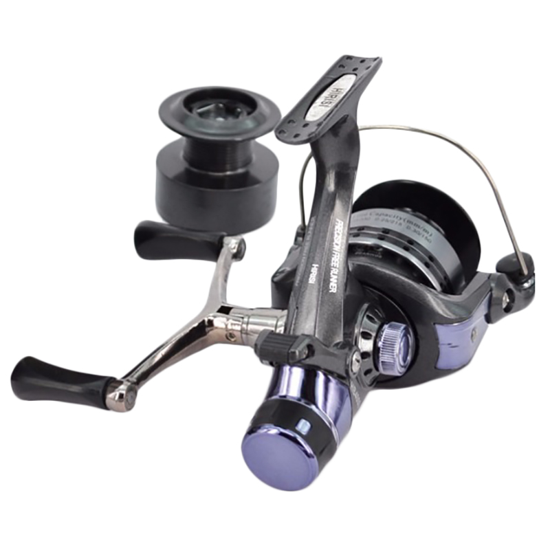 1X-Hirisi-Spinning-Fishing-Reel-For-Carp-Fishing-Free-Extra-Spool-X4A7 thumbnail 3