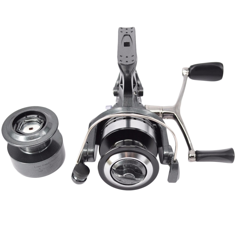 1X-Hirisi-Spinning-Fishing-Reel-For-Carp-Fishing-Free-Extra-Spool-X4A7 thumbnail 6