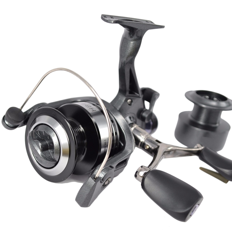1X-Hirisi-Spinning-Fishing-Reel-For-Carp-Fishing-Free-Extra-Spool-X4A7 thumbnail 7