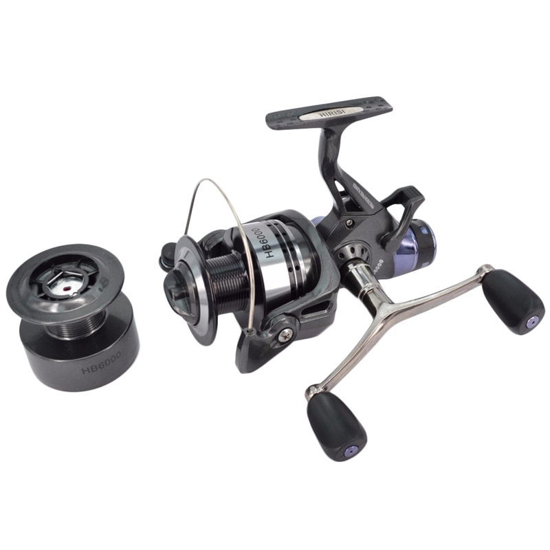 1X-Hirisi-Spinning-Fishing-Reel-For-Carp-Fishing-Free-Extra-Spool-X4A7 thumbnail 8